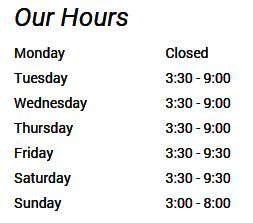 hours -findus